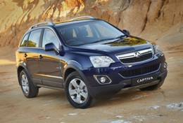 Holden Captiva 5 C140 Closed Off-Road Vehicle