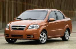 Chevrolet Aveo wheels and tires specs icon