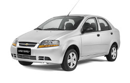 Chevrolet Aveo Family wheels and tires specs icon
