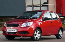 Chevrolet Aveo5 wheels and tires specs icon
