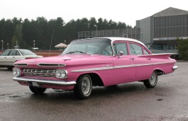 Chevrolet Bel Air IV Saloon