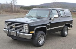 Chevrolet Blazer II Closed Off-Road Vehicle