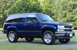 Chevrolet Blazer picture (1992 year model)