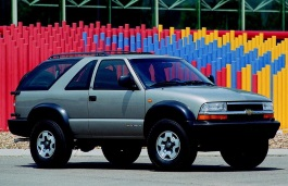 Chevrolet Blazer - Specs of wheel sizes, tires, PCD ...