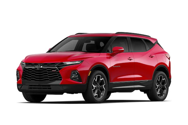 Chevrolet Blazer wheels and tires specs icon
