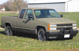 Chevrolet C1500 Pickup Extended Cab