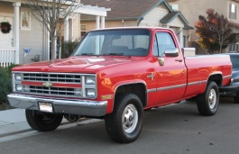 Chevrolet C20 Pickup Regular Cab