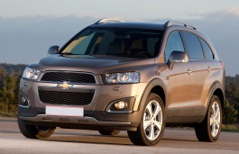 Chevrolet Captiva I Facelift (C140) SUV