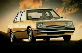 Chevrolet Cavalier I Saloon