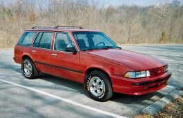 雪佛兰 Cavalier II Station Wagon