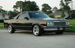 Chevrolet El Camino 1985 Wheel Tire Sizes Pcd Offset And Rims Specs Wheel Size Com