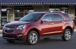 Chevrolet Equinox wheels and tires specs icon