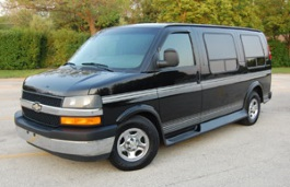 Chevrolet Express 1500 wheels and tires specs icon