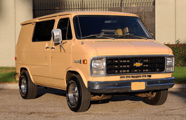Chevrolet G10 wheels and tires specs icon