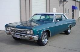 Chevrolet Impala - Specs of wheel sizes, tires, PCD, Offset