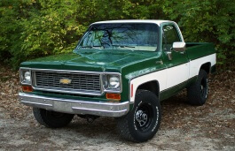 Chevrolet K10 wheels and tires specs icon