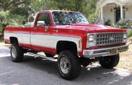 Chevrolet K10 III Facelift Pickup Regular Cab