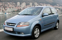 Chevrolet Kalos Hatchback