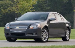 Chevrolet Malibu 2010 - Wheel & Tire Sizes, PCD, Offset and Rims ...