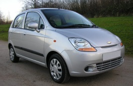opony do Chevrolet Matiz II [2005 .. 2007] [EUDM] Hatchback, 5d (M200)