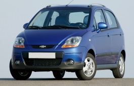Chevrolet Matiz wheels and tires specs icon