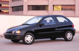 opony do Chevrolet Metro 1998 .. 2001 Hatchback, 3d