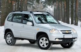 Chevrolet Niva Restyling Closed Off-Road Vehicle