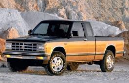1998 chevrolet s10 tire size