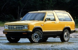 Chevrolet S10 Blazer wheels and tires specs icon