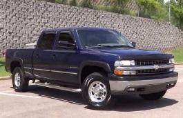 Chevrolet Silverado 1500 HD Pickup Crew Cab