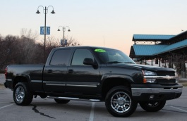 Chevrolet Silverado 1500 HD wheels and tires specs icon