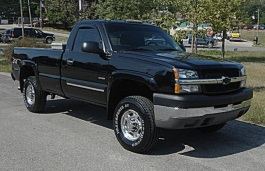 Chevrolet Silverado 2500 HD wheels and tires specs icon