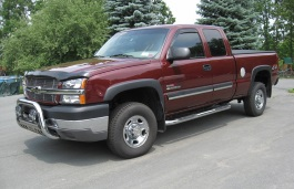 Chevrolet Silverado 2500 HD I (GMT800) Facelift Pickup Extended Cab