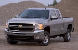 Chevrolet Silverado 2500 HD II (GMT900) Pickup Extended Cab