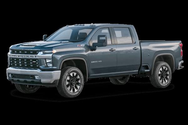 Chevrolet Silverado 2500 HD wheels and tires specs icon