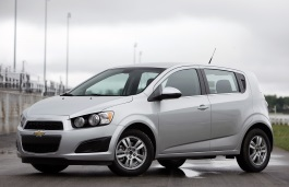 Chevrolet Sonic - Specs of wheel sizes, tires, PCD, Offset and ...