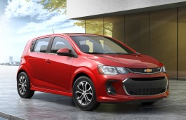 Chevrolet Sonic T300 Facelift Hatchback