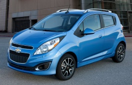 Chevrolet Spark Classic wheels and tires specs icon