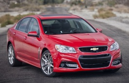 Chevrolet SS wheels and tires specs icon