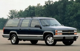 Chevrolet Suburban 2500 wheels and tires specs icon