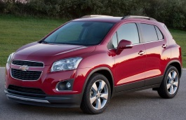 Chevrolet Tracker wheels and tires specs icon