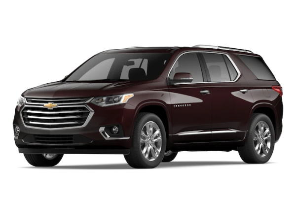 Chevrolet Traverse wheels and tires specs icon