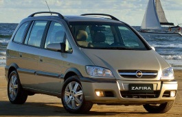 Chevrolet Zafira wheels and tires specs icon