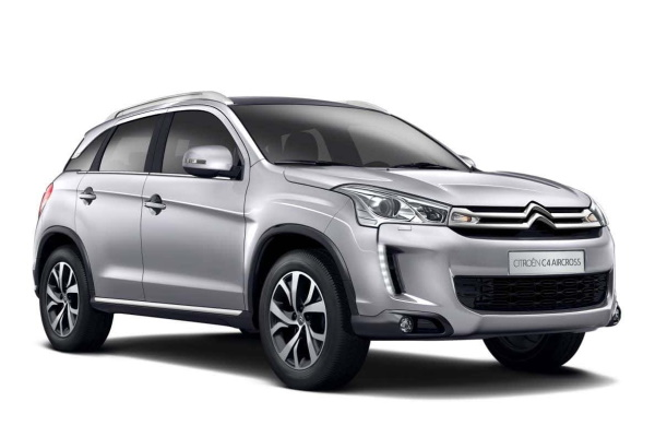Citroën C4 Aircross wheels and tires specs icon