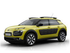 Citroën C4 Cactus PF1 Closed Off-Road Vehicle