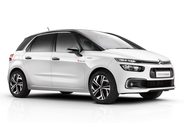 Citroën C4 Picasso wheels and tires specs icon