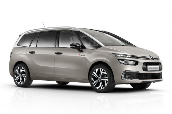 Citroën Grand C4 Picasso wheels and tires specs icon