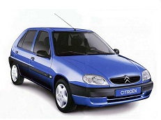 Citroën Saxo wheels and tires specs icon