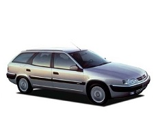 Citroën Xantia wheels and tires specs icon