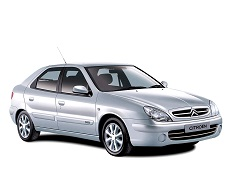 Citroën Xsara wheels and tires specs icon